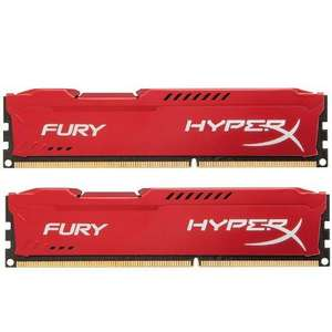 Kit mémoire HyperX Fur - 16 Go (2 x 8 Go), 1866 MHz (PC14900) DDR3, CL10