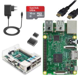 Kit complet Vilros Raspberry Pi 3 Plug Edition