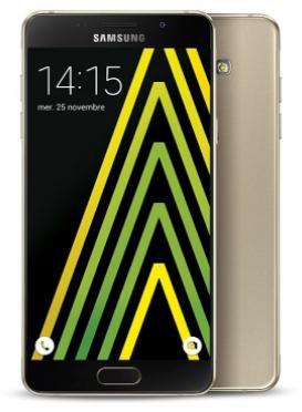 "Smartphone 5.2"" Samsung Galaxy A5 2016 - Or  (via ODR de 50€) + 60€ offerts en bon d'achat"