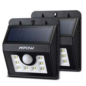 Lot de 2 lampes solaires Mpow (8 LED)