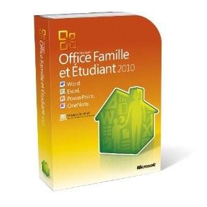 Microsoft Office famille et étudiant 2010, pour 3 postes avec code promo !