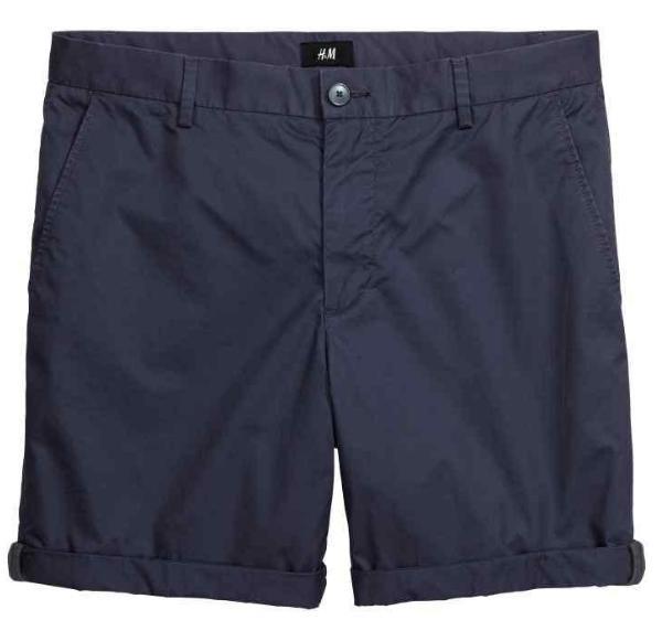 Sélection d'articles d'été en promo - Ex : Short en coton Slim fit