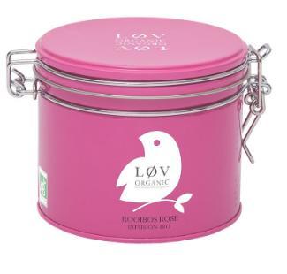 Choix d'infusions et thés Lov Organic à -40% ex: Infusion Rooibos Rose (100 g)