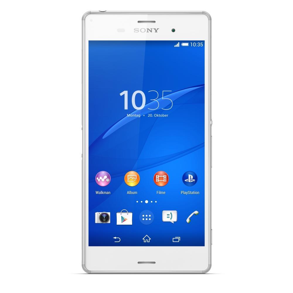 """Smartphone 5.2"""" Sony Xperia Z3 Blanc - 3 Go RAM, Snapdragon 801"""