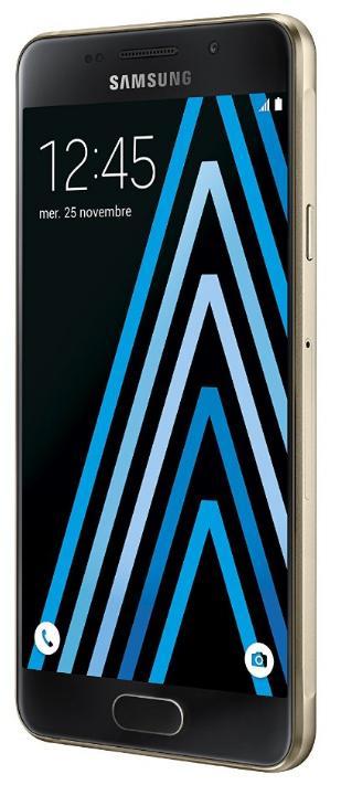 """Smartphone 4.7"""" Samsung Galaxy A3 2016 - HD, Exynos 7578 1.5 GHz, ROM 16 Go, RAM 1.5 Go (via ODR de 50€) + 40€ offerts en bon d'achat"""