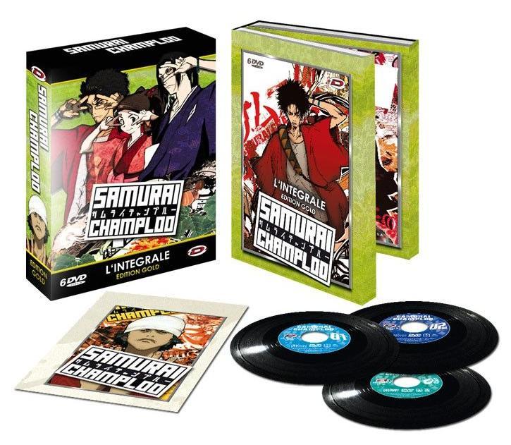Sélection de DVD et Blu-Ray Anime Japonais en promotion - Ex : Coffret DVD Samurai Champloo (Intégrale)