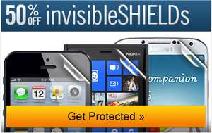 Protections Invisible Shields iPhone, Galaxy etc...à -50%