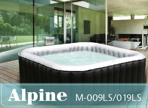 Spa gonflable carré Alpine 4 - 700l