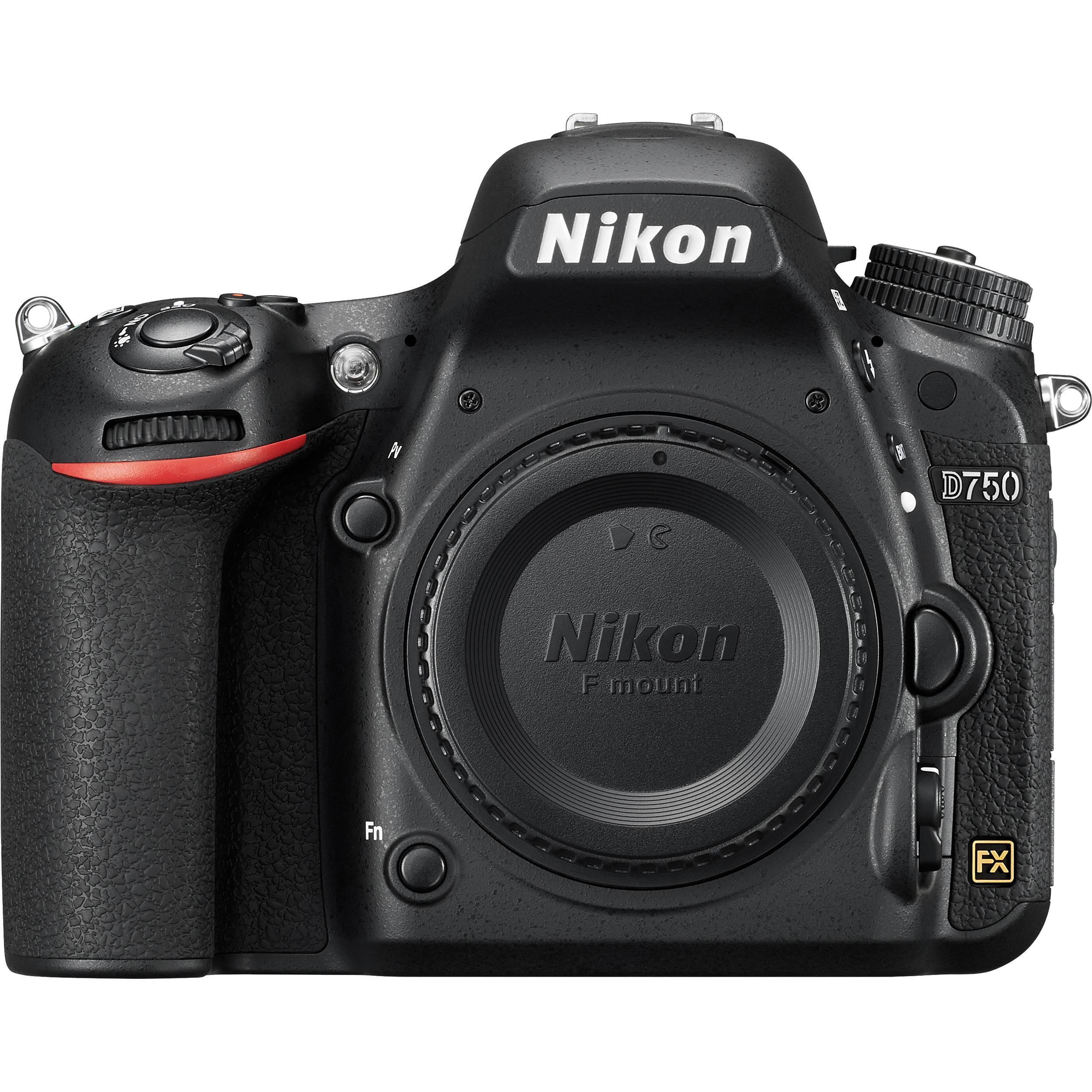 Appareil photo Nikon D750 - Boîtier Nu