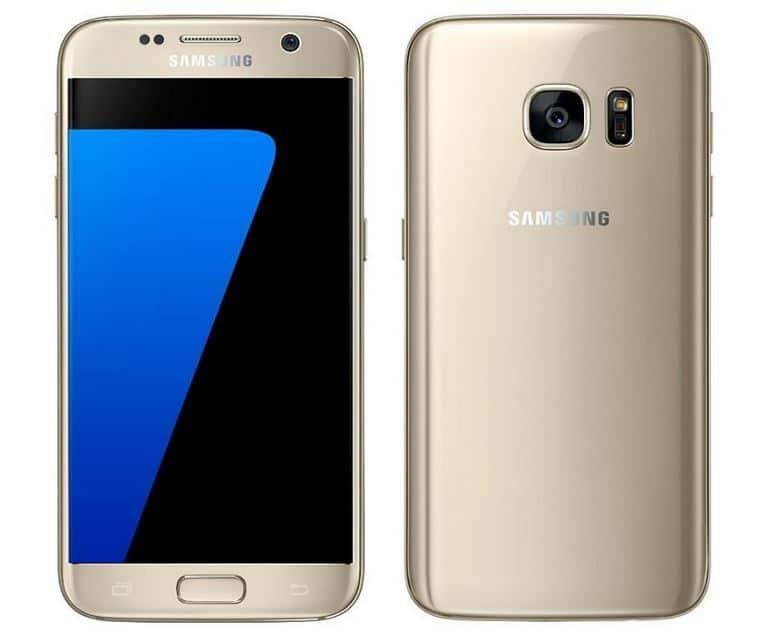 "Smartphone 5.1"" Samsung Galaxy S7 - 32 Go, Or ou Noir"