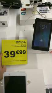 """Tablette tactile 7"""" Selecline 4Go - Android 4.4"""