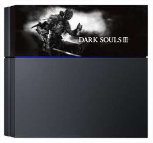 Coverplate Dark Souls 3 pour PS4