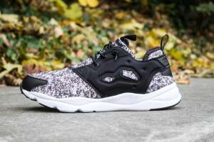Baskets Reebok Furylite Winter Black Chalk (Tailles 38.5 à 42.5)