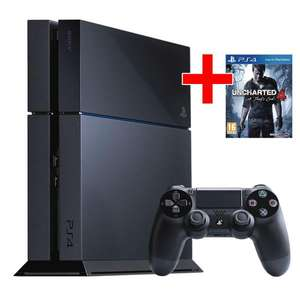Pack Console Sony Playstation 4 1To + Uncharted 4