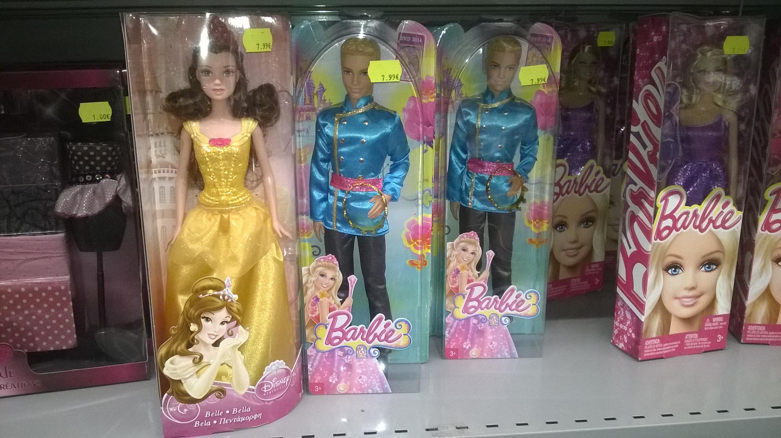 Poupée Disney Belle et Barbie