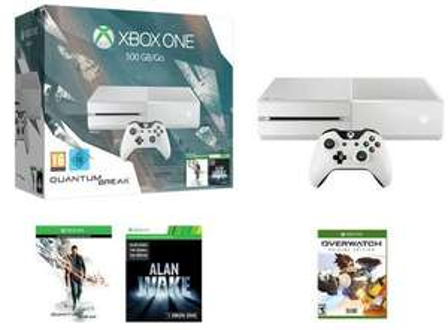 Overwatch offert pour l'achat d'une PS4 ou d'une Xbox One parmi une sélection - Ex: Xbox One 500Go Blanche + Quantum Break + Alan Wake + Overwatch