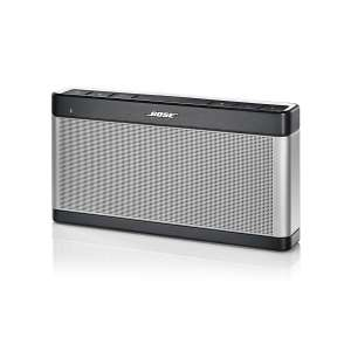 Enceinte bluetooth Bose SoundLink III - argent