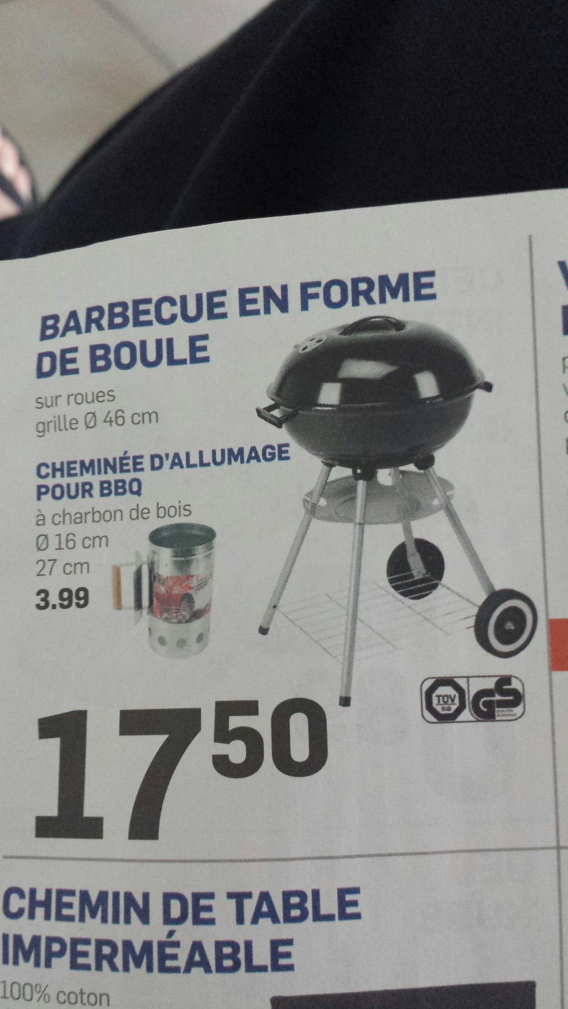 Barbecue en forme de boule - Grille de 46cm de diamètre
