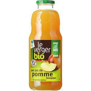 Sélection de produits Bio en promotion - Ex : 4 bouteilles de Pur Jus de Pomme Le Verger Bio (via 5.76€ sur la carte)