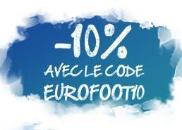 10% de réduction sur une sélection de produits Euro 2016