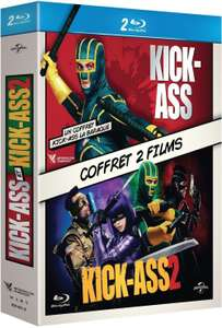 Coffret Blu-ray : Kick Ass 1&2
