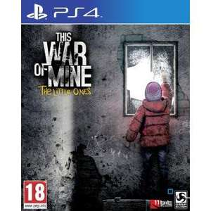 This War of Mine The Little Ones sur PS4
