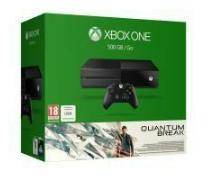 Pack Console Microsoft Xbox One + Quantum Break + 40% de réduction sur le Xbox Live 3 mois