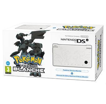 Pack Console Nintendo DSI+ Pokemon version banche  ou noire édition limitée