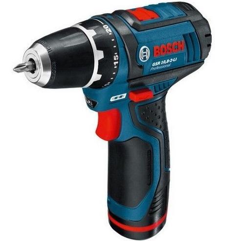 Perceuse visseuse Bosch GSR10.8-2li avec coffret embouts