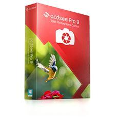 50% de réduction sur les logiciels photos - Ex : ACDSee Pro 9