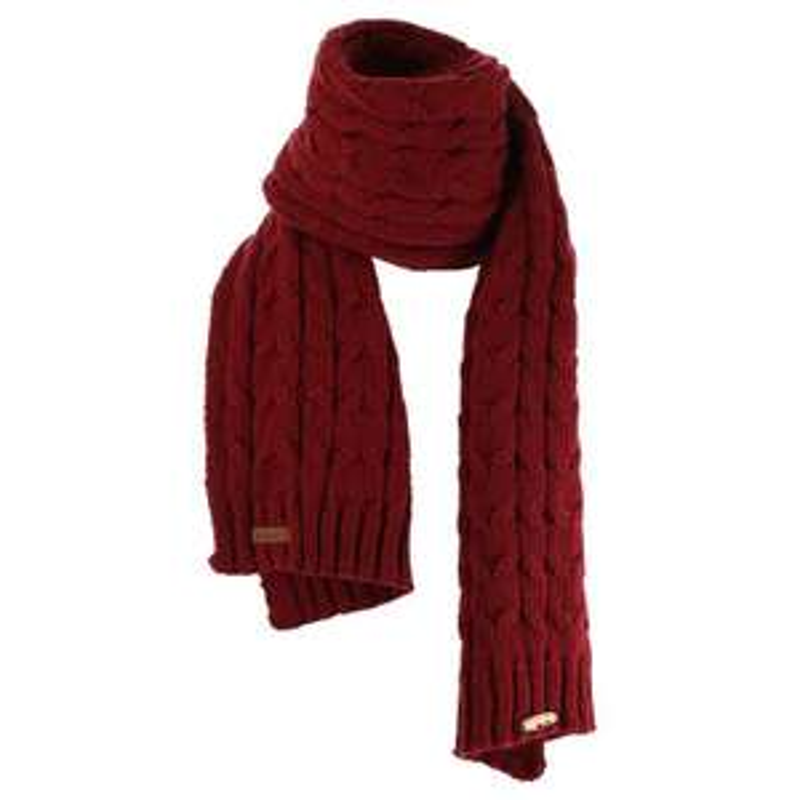 Écharpe Quechua Warm 500 - bordeaux ou gris