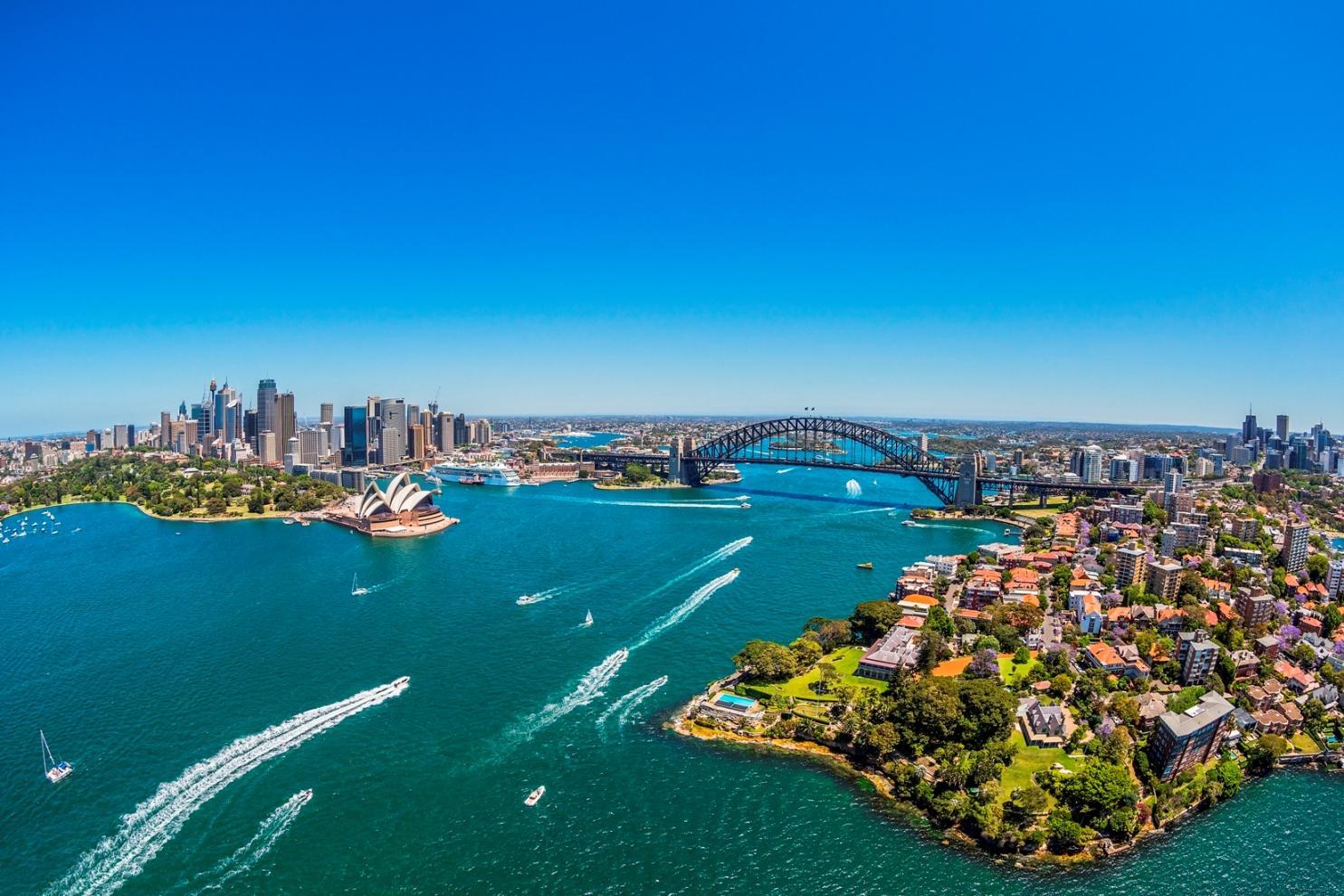 Vols A/R Paris - Sydney du 6 au 20 Novembre