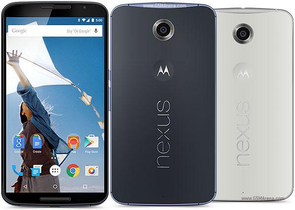 "Smartphone 6"" Motorola Nexus 6 - 64 Go, Blanc"