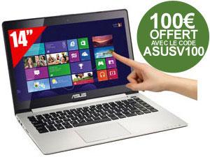 Ultrabook 14'' ASUS VivoBook S400CA-CA010H Tactile