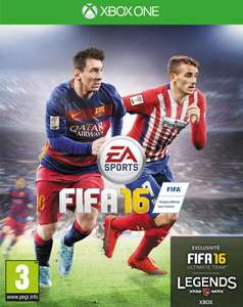 [Membres Gold] FIFA 16 sur Xbox One (dématérialisé)