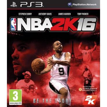 Jeu NBA 2K16 sur PS3