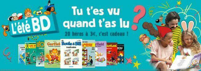 30 bandes dessinées au choix parmi une sélection à 3,90€ en ligne et