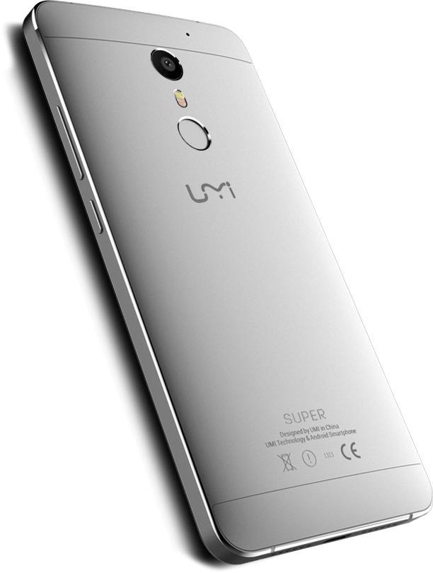 """[Précommande] Smartphone 5.5"""" UMI Super 4G  - MT6755 Octa core, RAM 4Go, ROM 32Go"""