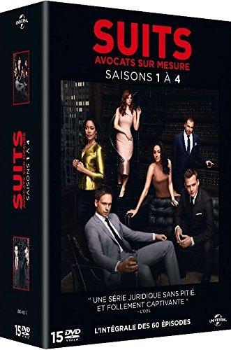 Coffret DVD Suits - Saisons 1 à 4