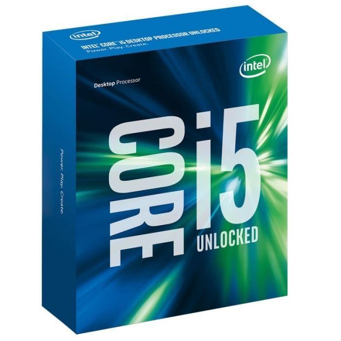 [Cdiscount à volonté] Processeur Intel Skylake Core i5-6600K - 3.5 GHz