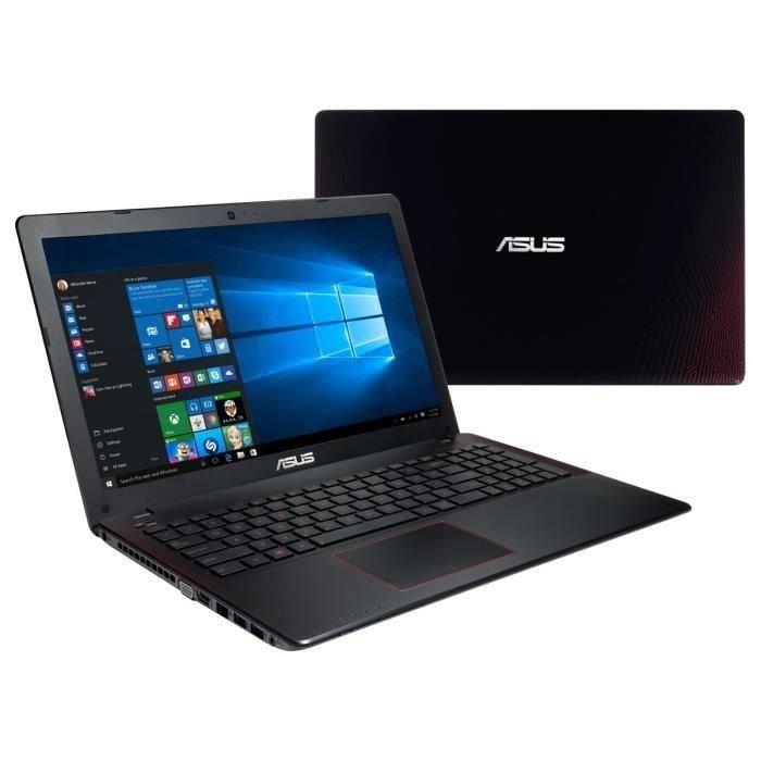 "[Cdiscount à volonté] PC Portable Gamer 15.6"" Asus FX550JX-XX312T - i5-4200H 2.8 GHz, RAM 6 Go, GTX 950M, HDD 1 To, Windows 10"