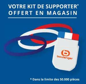 Kit de supporter offert