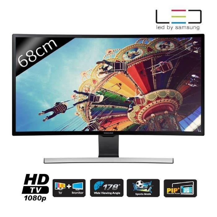 """TV 27"""" Samsung T27D590CX - Incurvé, Full HD"""