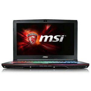 """PC Portable 15.6"""" MSI GE62 6QD-668FR Apache Pro - i7-6700HQ, RAM 16 Go, SSD 128 Go + HDD 1 To, GeForce GTX 960M 4 Go, Windows 10"""