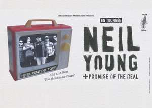 Concert de Neil Young + Promise of the Real