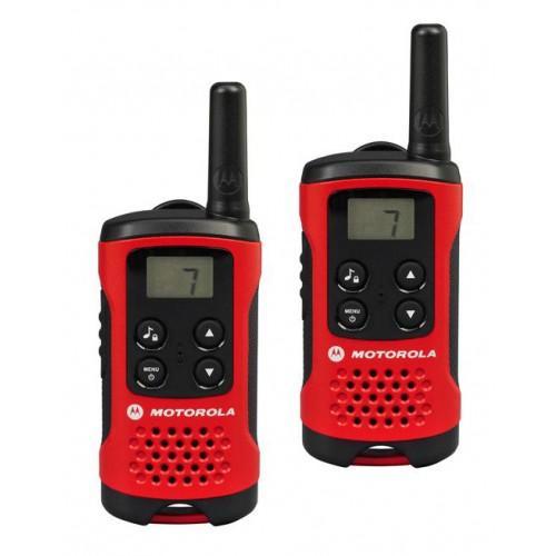 Paire de Talkie Walkie Motorola 2XT40 - Rouge/Noir