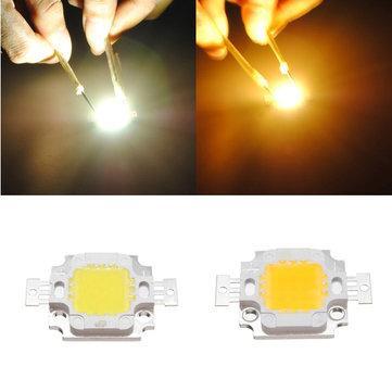 LED à haute luminosité Blanc / Blanc chaud - 10W, 900 Lumens