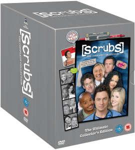 Coffret DVD Scrubs Intégrale de la saison 1 à 9 (VF Intégrale)
