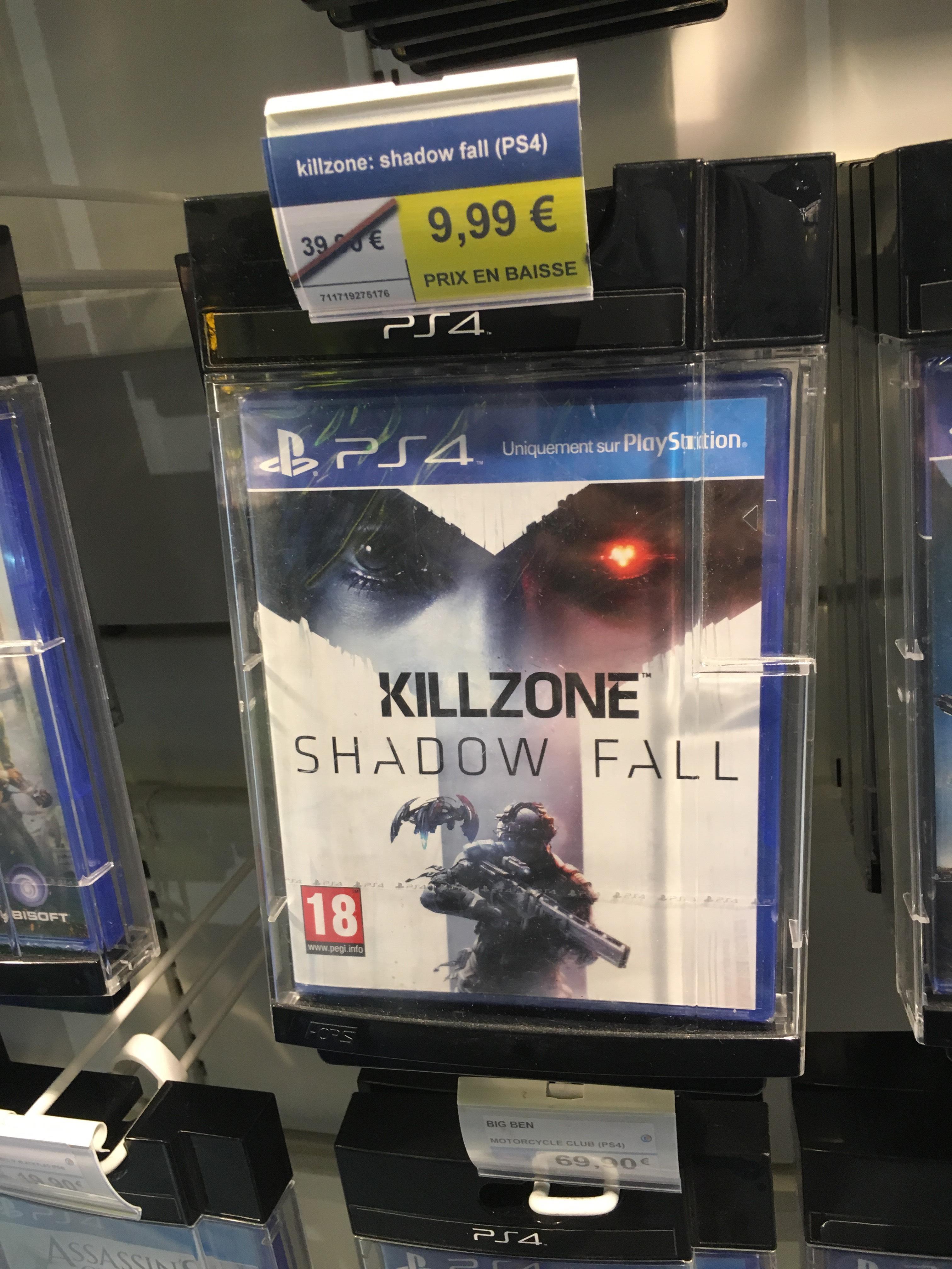 Sélection de jeux PS4 / PS3 en promotion - Ex: Killzone Shadow Fall sur PS4