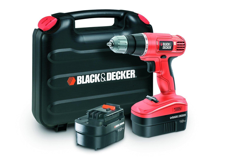 Perceuse-visseuse Black & Decker EPC18CABK - 2X18V